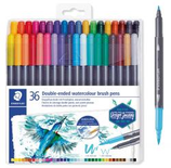 36 Feutres Staedtler pinceau double pointe Cod. 262027