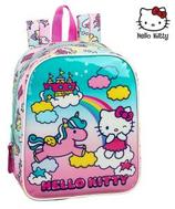 1 Hello Kitty Licorne Sac à dos por la crèche 27x22 Cod. 072690