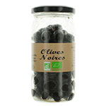 12 Olives noires BIO pot 37 cl