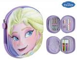 1 Frozen Elsa Plumier 3D complet 22x18 Cod. 222462