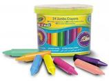 24 cires Kids jumbo Crayola 7x9 Cod. 146015