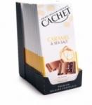 12 Chocolat lait caramel-fleur de sel tablette 100g