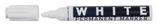 12 Feutres Blanc permanent pointe épaisse Cod. 261040