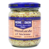 12 Moutarde à l'ancienne pot 190g Reine de Dijon