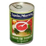 12 Chair de tomate au basilic 1/2 conserve 400g
