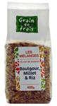 12 Mélange boulgour, millet & riz 400g Grain de Frais