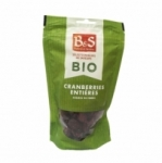 16 Cranberries entières BIO paquet 100g B&S