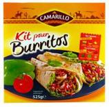9 Kit pour burritos paquet 505g Camarillo