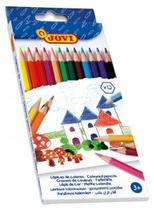 12 crayons couleurs Jovi Cod. 148970
