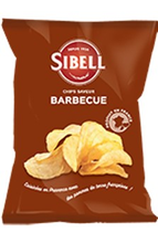 24 Chips saveur barbecue paquet 100g Sibell