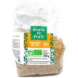 10 Graines de lin BIO paquet 250g Grain de Frais