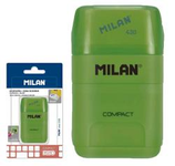 1 Taille-crayons gomme Milan Compact Cod. 132055
