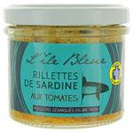 12 Rillettes de sardine à la tomate pot 100g