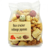 10 Rice cracker mélange japonais paquet 120g