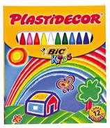 12 cires Plastidecor Cod. 146101
