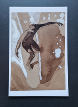 surfcard - study for printmaking 20 FEB 4