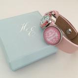 Cuteness in a leather bracelet