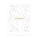 karte / Postkarte Blätter  - Enjoy your Special Day -