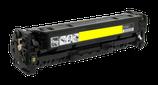 Compatible HP CC532A - CE412X - CF382A - Canon  718Y Jaune