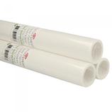 Patroon papier blanco- rol 10 meter