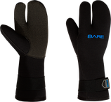 7mm K-Palm 3-Finger Gauntlet Glove