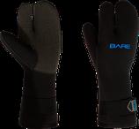 7mm K-Palm 3-Finger Gauntlet Glove