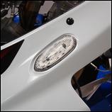 GSX-R1000 05-08 LEDミラーブロックオフウインカー