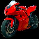 CBR600RR 09-12 レースカウル RED
