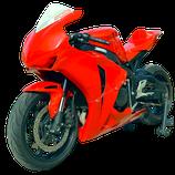 CBR1000RR 08-11 レースカウル RED