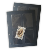 Set 10 Fogli Per Raccoglitore Santini ファイルコレクター用
