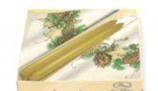 ナプキンキャンドルセット    黄色松