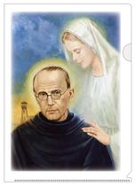 聖母の騎士社 クリアファイル・聖マリアと聖コルベ
