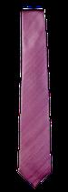 XXL Krawatte, 7.5 cm breit, uninah beerenrot