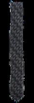 Krawatte, 5.0 cm breit, grau gemustert