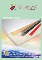 Encaustic karton gekleurd assorti A5
