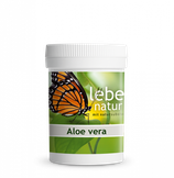 lebe natur® Aloe Vera 90 K. à 400mg/ 36g