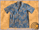 "Original Hawaiihemd ""Luau Blau"""