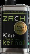 Steirisches Kürbiskernöl g.g.A. Blechdose - Familie Zach