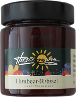 Himbeer-Ribisel Leichkonfitüre