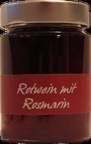 Rotweingelee mit Rosmarin