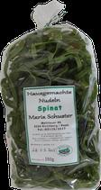 Hausgemachte Bandnudeln Spinat