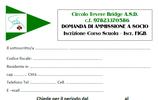 ISCRIONE ALLA A.S.D. CIRCOLO TEVERE BRIDGE +