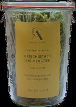 Griechischer BioBergtee im Weckglas vom Olymp