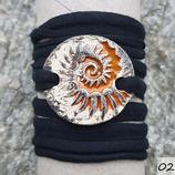 Damen / Armband - Rund -Schneckenstruktur