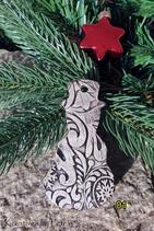 Weihnachts-Anhänger ''Schneemann''