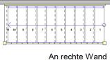 Komplettset 2-teilig - Länge bis 3980 mm