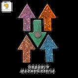 Orgonit-Magnete (5er-Set)