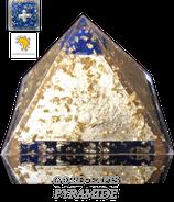 Gold-Lapis Orgonpyramide