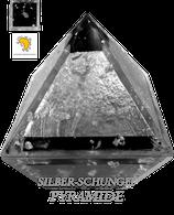 Silber-Schungit Pyramide