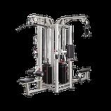 Steelflex 4 Multi- Stations Studiogerät mit 4 x 95 Kg Gewichtstürmen